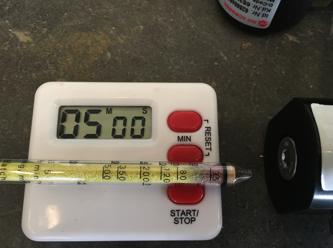 德尔格水检测管检测压缩空气含水量