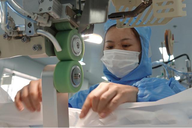 口罩生产线