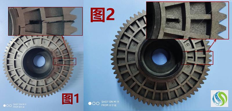 从齿轮开裂看调湿处理对PA材料的重要性